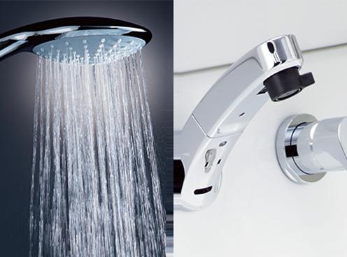 節水型水栓・シャワー